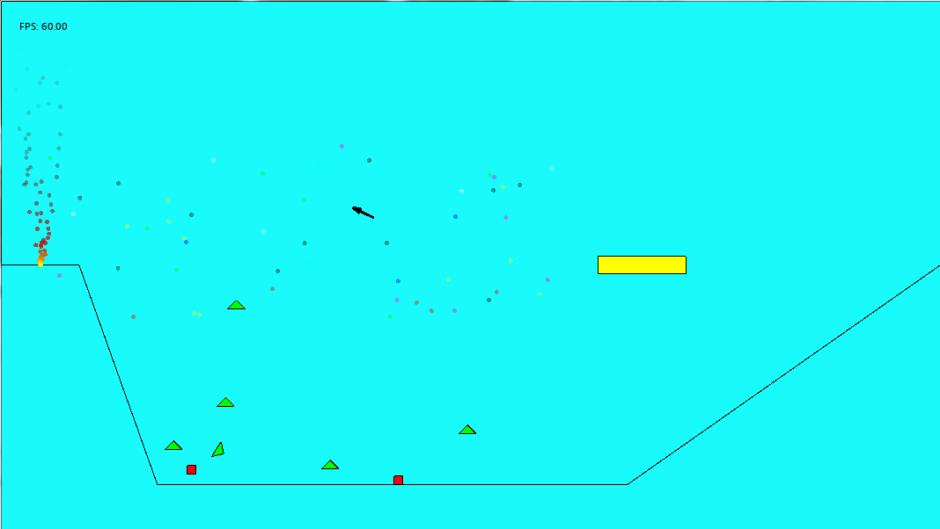 Physics & AI Engines Assignment Screenshot