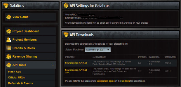 Newgrounds API Download